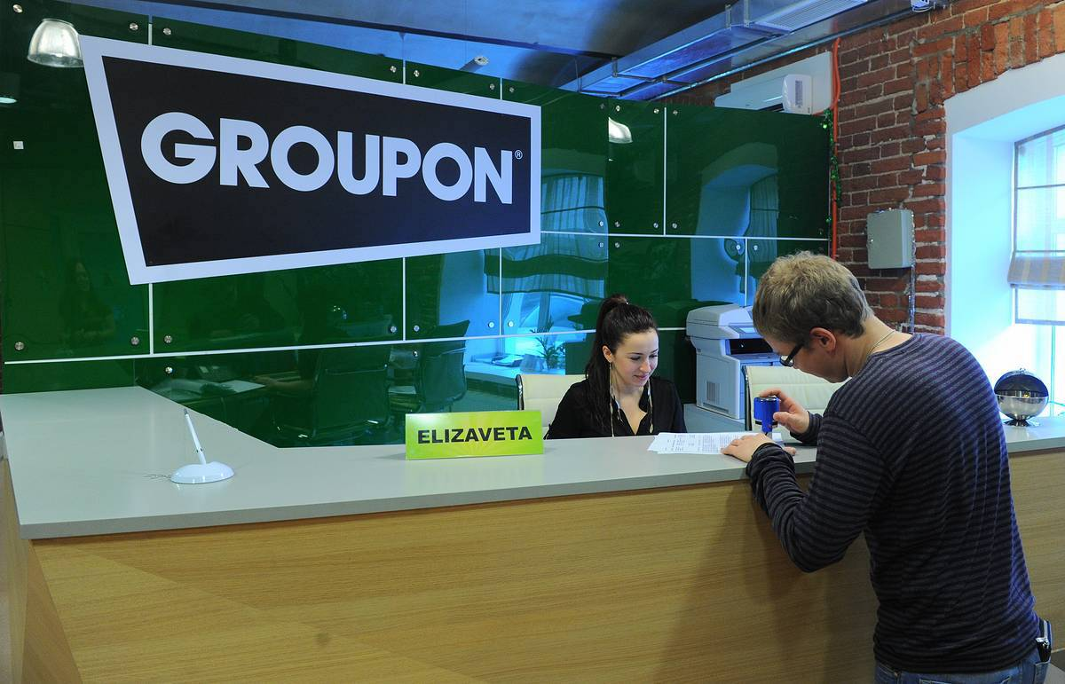 Groupon Russia office