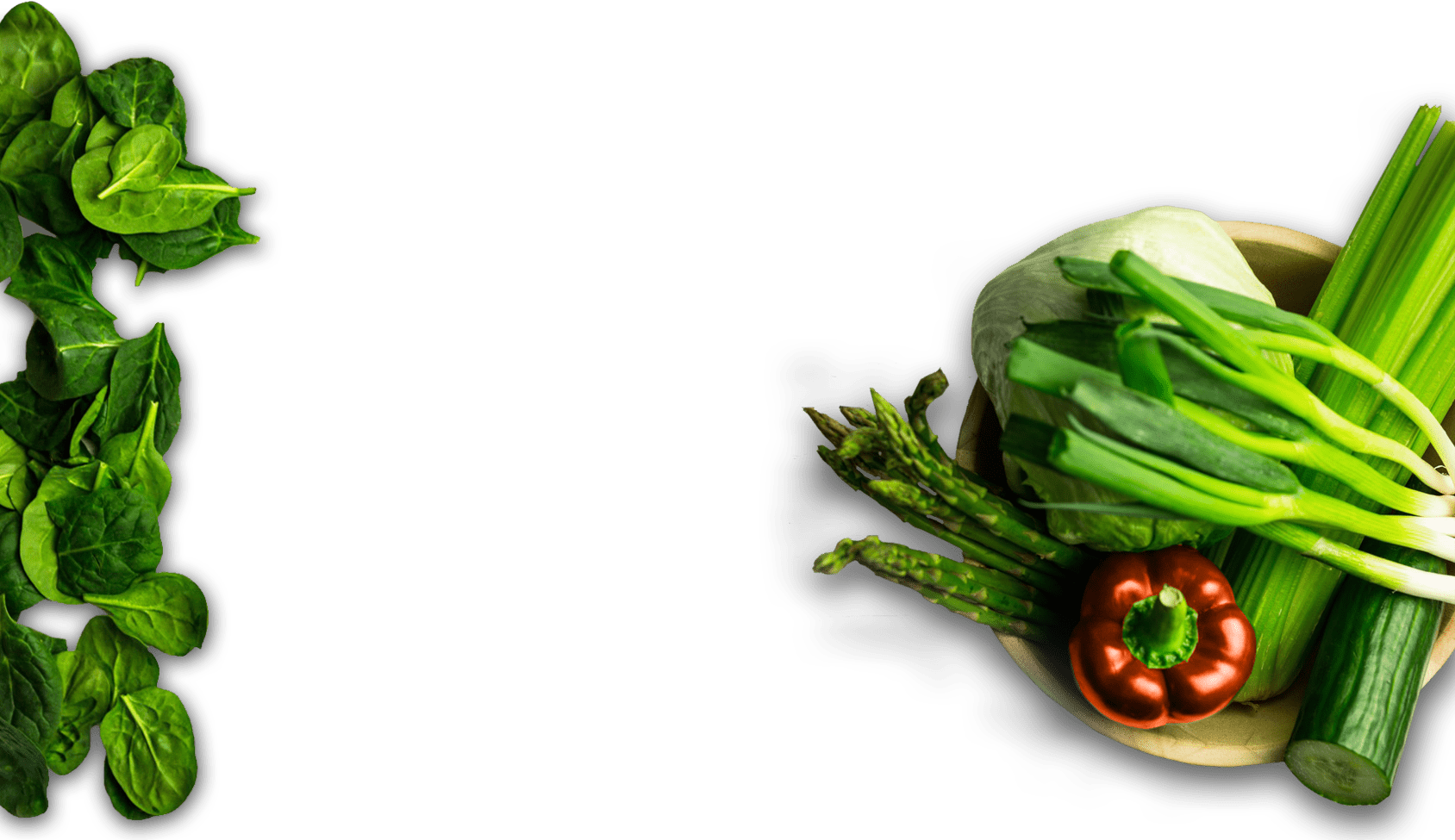 Vegetables PNG with transparency