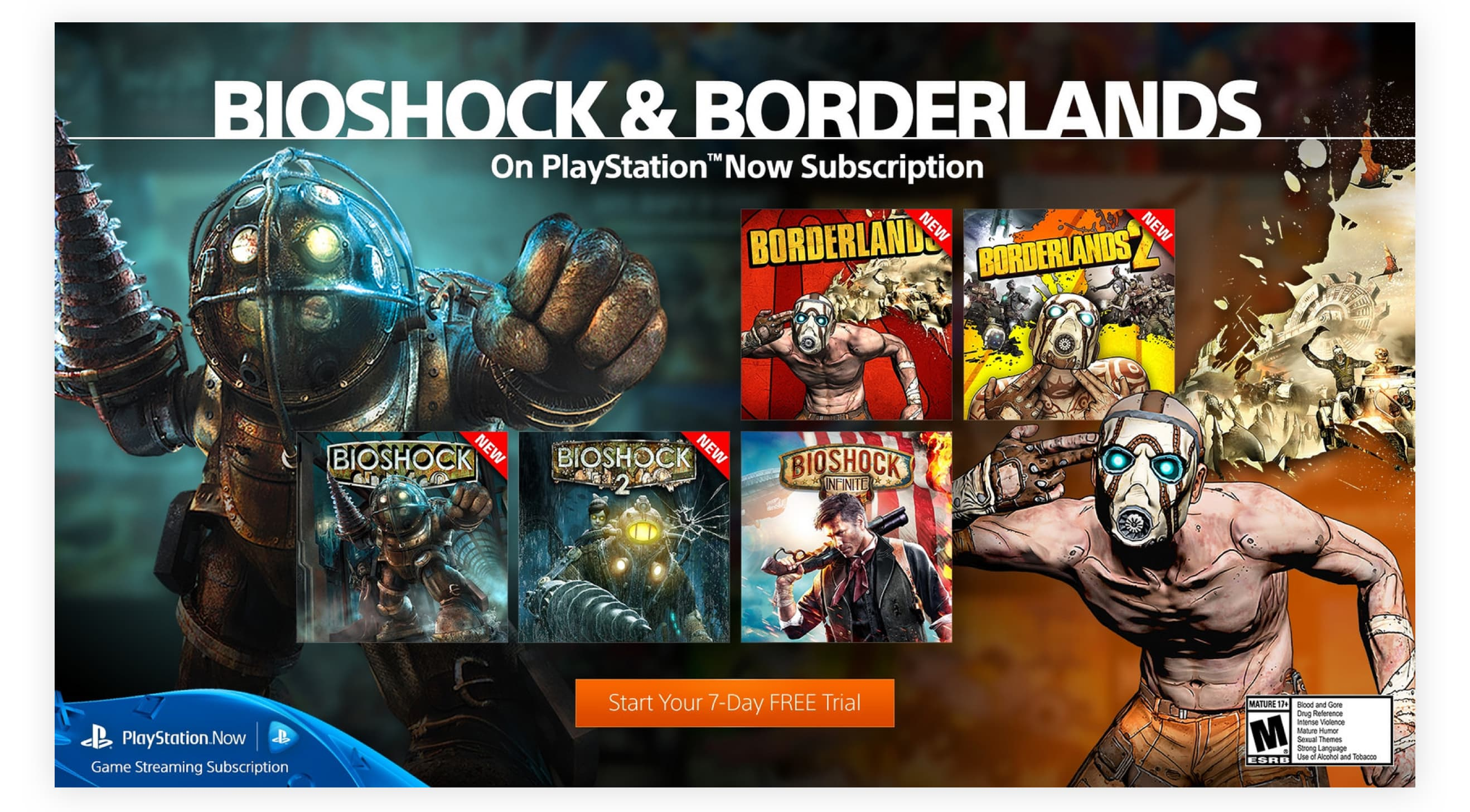 Bioshock and Borderlands