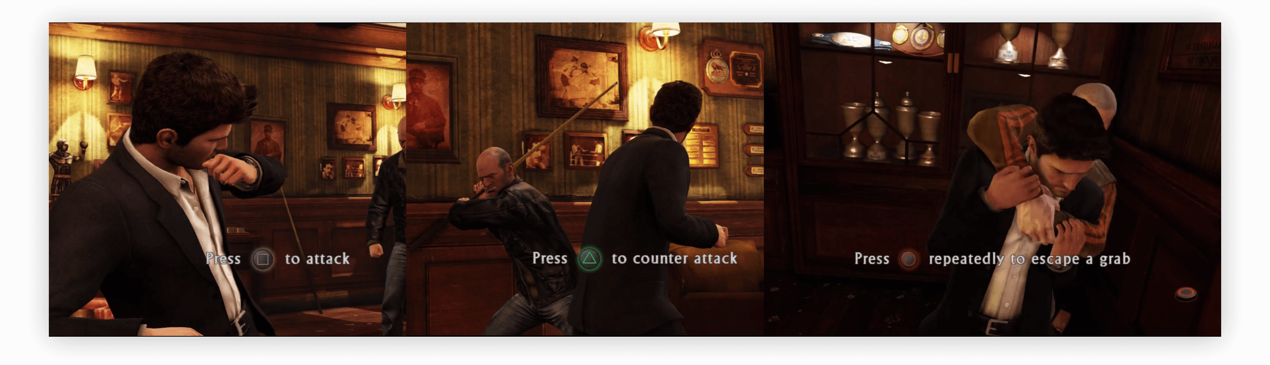 35c395ca0d2 Uncharted 3 by Naughty Dog and Sony Computer Entertainment has got the  onboarding just right  fighting controls are explained the first time you  get into a ...